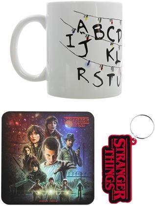 Stranger Things: Iconic - Mug, Coaster and Keychain Set