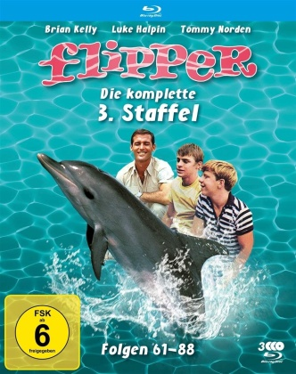 Flipper - Staffel 3 (Fernsehjuwelen, 3 Blu-rays)