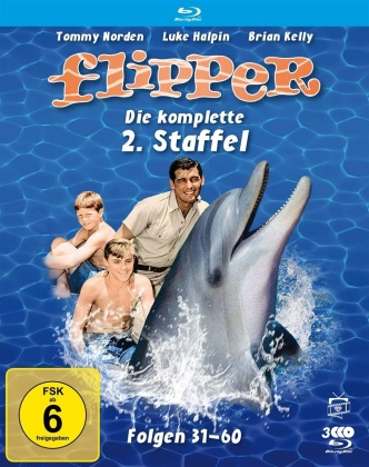 Flipper - Staffel 2 (Fernsehjuwelen, 3 Blu-rays)