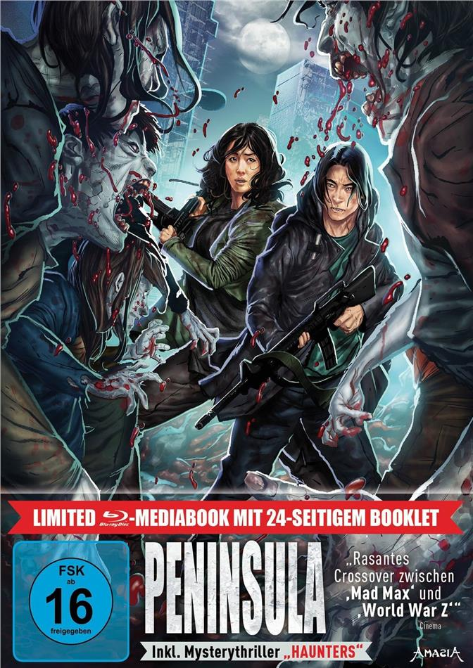 Peninsula (2020) (Limited Edition, Mediabook, 2 Blu-rays)