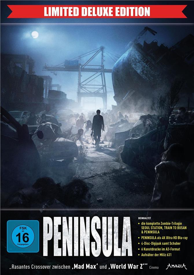Peninsula (2020) (Digipack, Schuber, Limited Deluxe Edition, 4K Ultra HD + 3 Blu-rays)