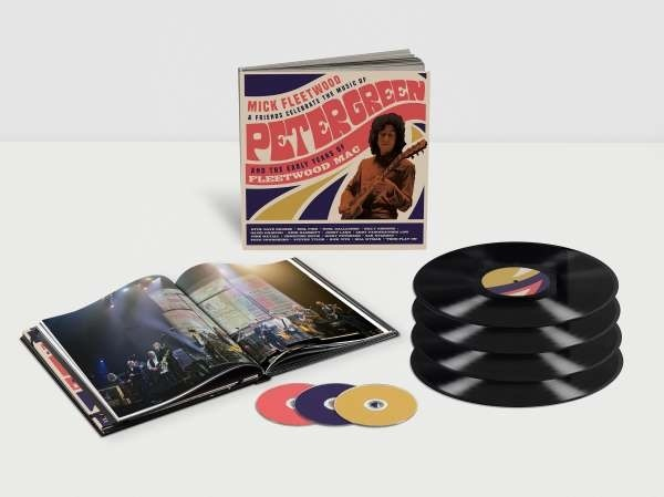 Mick Fleetwood & Friends - Celebrate the Music of Peter Green and the Early Years of Fleetwood Mac (Boxset, 4 LPs + 2 CDs + Blu-ray)