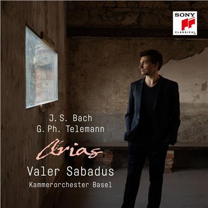 Valer Sabadus, Julia Schröder, KO Basel, Johann Sebastian Bach (1685-1750) & Georg Philipp Telemann (1681-1767) - Bach & Telemann