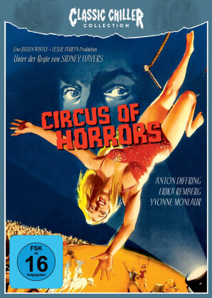 Circus Of Horrors (1960) (Classic Chiller Collection, Limited Edition, Blu-ray + CD)