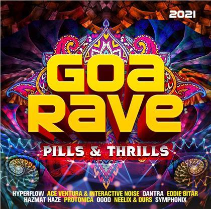 Goa Rave 2021 - Pills & Thrills (2 CDs)
