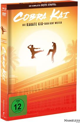 Cobra Kai - Staffel 1 (Cover A, Limited Edition, Mediabook, 2 Blu-rays + 2 DVDs)