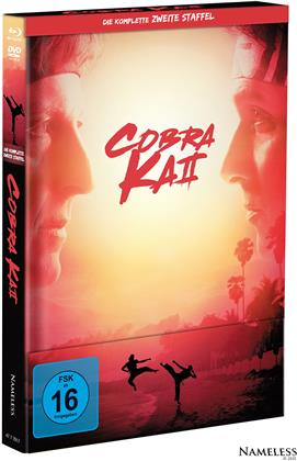 Cobra Kai - Staffel 2 (Cover A, Limited Edition, Mediabook, 2 Blu-rays + 2 DVDs)