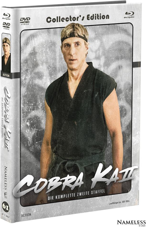 Cobra Kai - Staffel 2 (Cover B, Limited Edition, Mediabook, 2 Blu-rays + 2 DVDs)