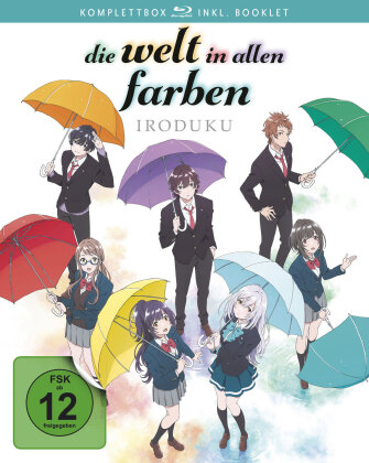 Die Welt in allen Farben - Iroduku (Komplettbox, 2 Blu-rays)