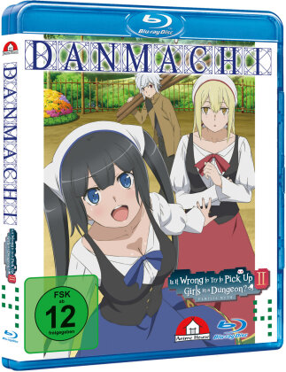 DanMachi – Is It Wrong to Try to Pick Up Girls in a Dungeon? - Staffel 2 - Vol. 4