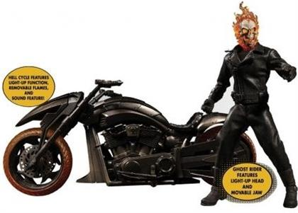One:12 Collective - Ghost Rider & Hell Cycle Set
