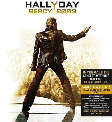Johnny Hallyday - Bercy 2003 (Limited Edition, 4 LPs)