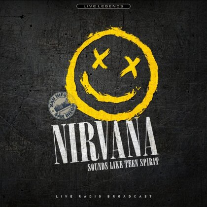 Nirvana - Sounds Like Teen Spirit - San Diego (LP)