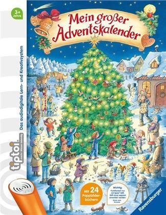 tiptoi® Mein großer Adventskalender - mit 24 Pappbilderbüchern