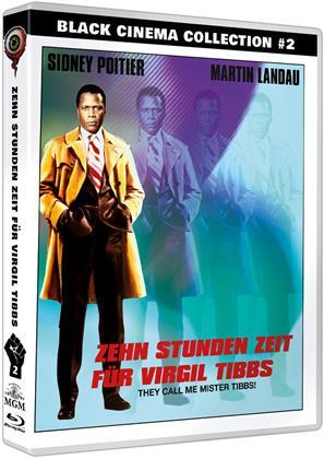 Zehn Stunden Zeit für Virgil Tibbs (1970) (Black Cinema Collection, Blu-ray + DVD)