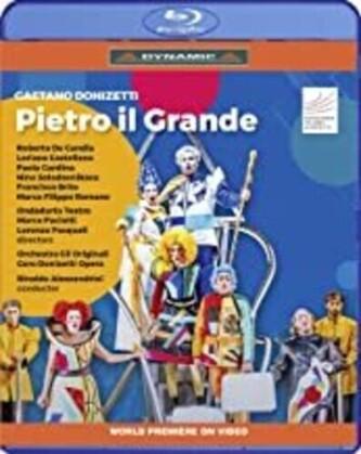 Donizetti, Alessandrini & Chorus Donizetti Opera - Pietro Il Grande