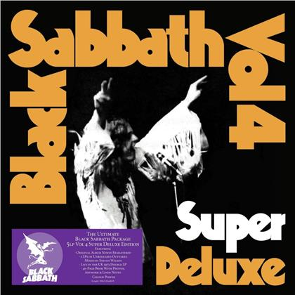 Black Sabbath - Vol. 4 (Super Deluxe, Boxset, 5 LPs)