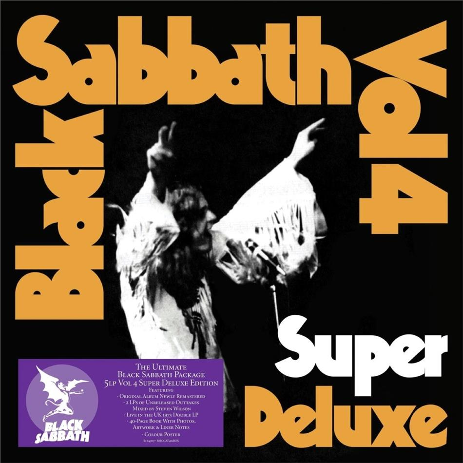 Black Sabbath - Vol. 4 (Super Deluxe, Boxset, 5 LPs)