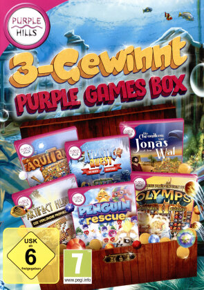 3 Gewinnt Purple Games Box
