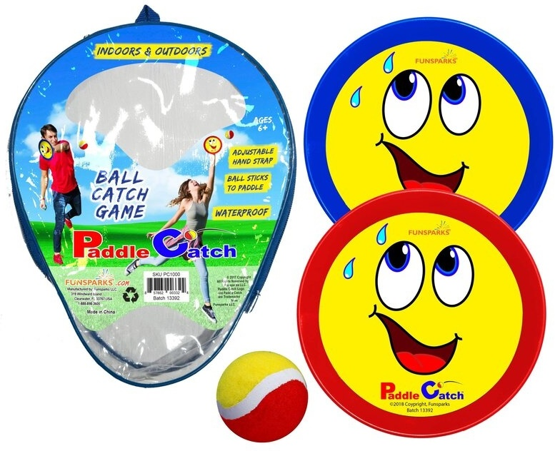 Paddle Catch - Klettball Set