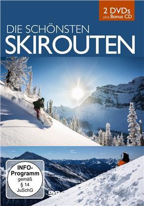 Die schönsten Skirouten (CD + DVD)