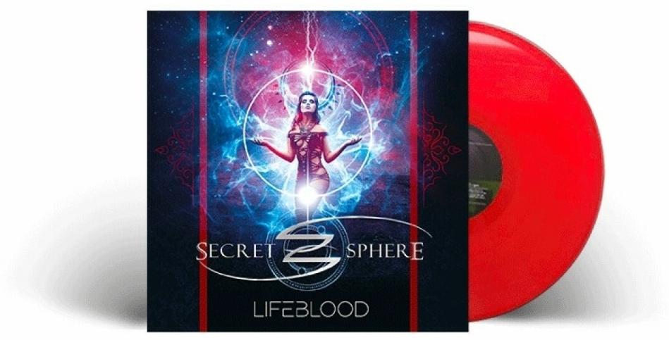 Secret Sphere - Lifeblood (Red Vinyl, LP)