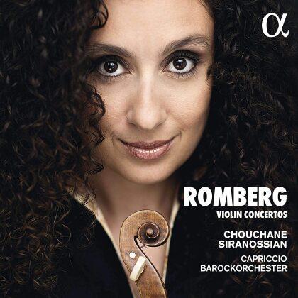 Andreas Romberg (1767-1821), Chouchane Siranossian & Capriccio Barockorchester - Violin Concertos