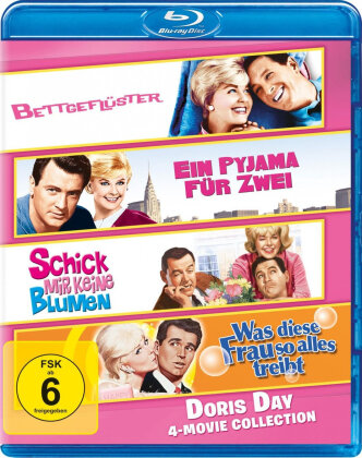 Doris Day Collection (4 Blu-rays)