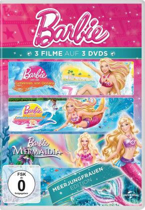 Barbie - Meerjungfrauen Edition (Neuauflage, 3 DVDs)