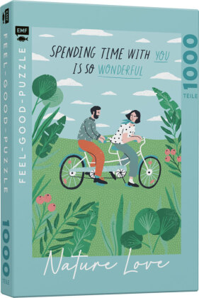 NATURE LOVE: Spending time with you is so wonderful - Feel-good-Puzzle 1000 Teile