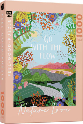 NATURE LOVE: Go with the flow - Feel-good-Puzzle 1000 Teile