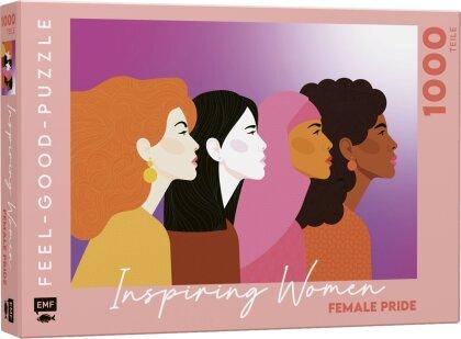 INSPIRING WOMEN: Female pride - Feel-good-Puzzle 1000 Teile