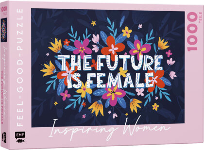 INSPIRING WOMEN: The Future is female - Feel-good-Puzzle 1000 Teile
