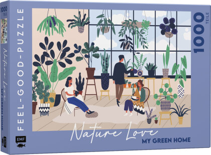 NATURE LOVE: My green home - Feel-good-Puzzle 1000 Teile