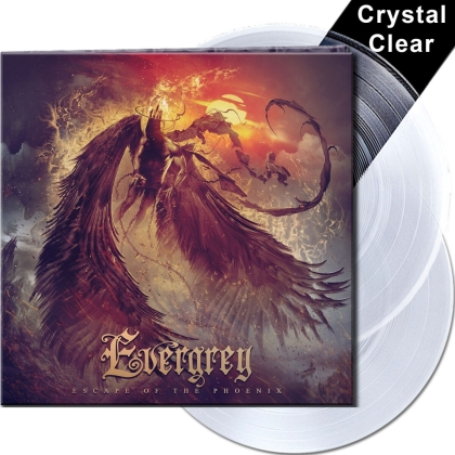 Evergrey - Escape Of The Phoenix (Limited Gatefold, Crystal Clear Vinyl, 2 LPs)
