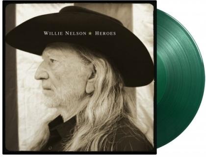 Willie Nelson - Heroes (Music On Vinyl, 2021 Reissue, Limited Gatefold, Green Vinyl, LP)