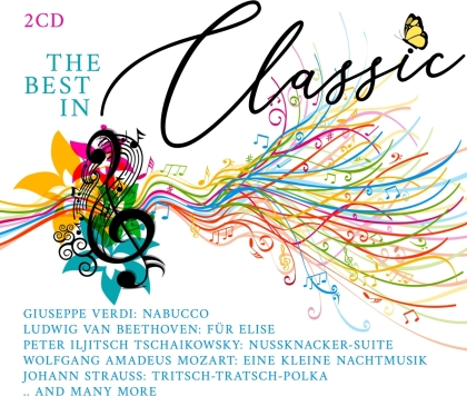 Wolfgang Amadeus Mozart (1756-1791), Giuseppe Verdi (1813-1901) & Johann Sebastian Bach (1685-1750) - The Best In Classic Vol. 2 (2 CDs)