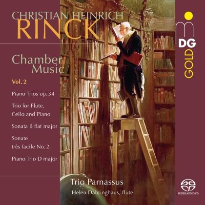 Christian Heinrich Rinck (1770-1846), Helen Dabringhaus & Trio Parnassus - Chamber Music 2 (Hybrid SACD)