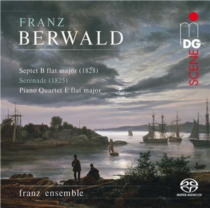 franz ensemble & Franz Berwald - Septet in B Flat Major, Serenade, - Piano Quartet E Flat Major (Hybrid SACD)