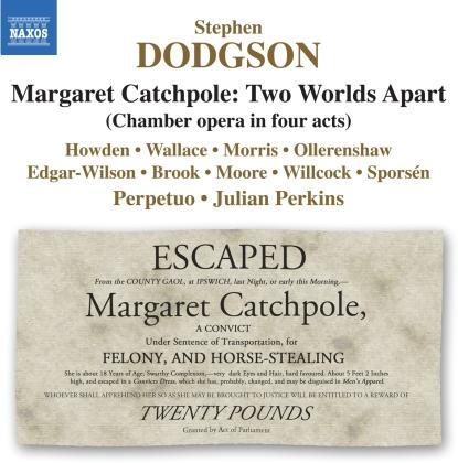 Ensemble Perpetuo, Perkins & Stephen Dodgson (1924-2013) - Margaret Catchpole - Two Worlds Apart