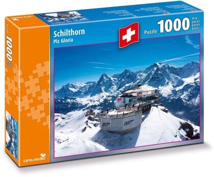 Schilthorn Piz Gloria - 1000 Teile Puzzle