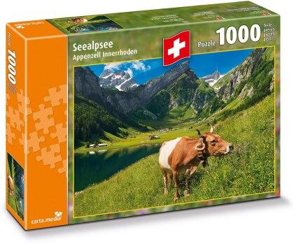 Seealpsee Appenzell Innerhoden - 1000 Teile Puzzle