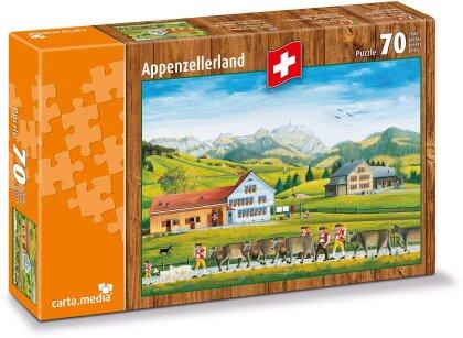 Appenzellerland - 70 Teile Puzzle