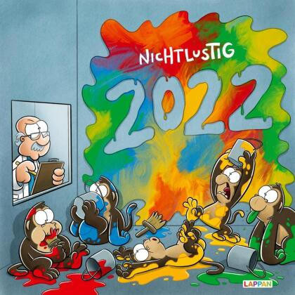 Nichtlustig Wandkalender 2022