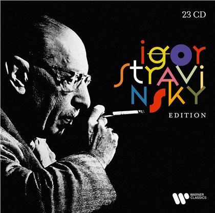 Mariss Jansons, Sir Simon Rattle, Gidon Kremer, Pierre Boulez (*1925), Riccardo Muti, … - Strawinsky Edition (23 CDs)