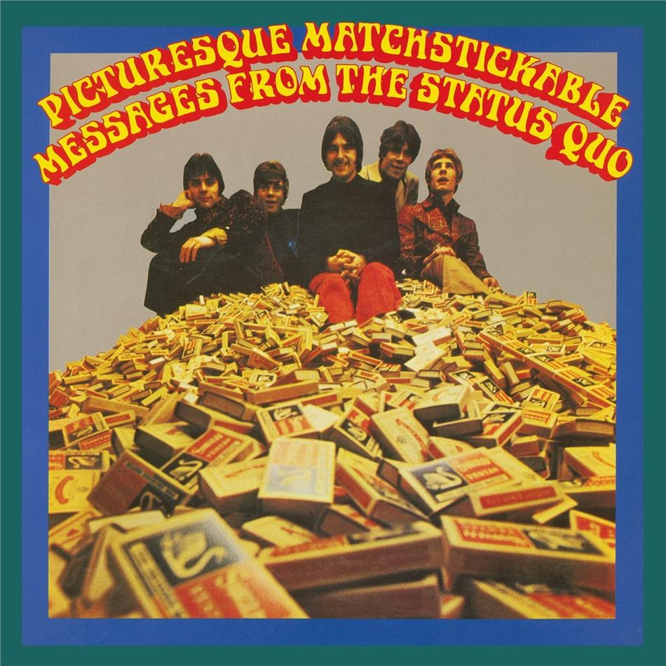 Status Quo - Picturesque Matchstickable Messages From The (Music On Vinyl, 2021 Reissue, Black Vinyl, LP)