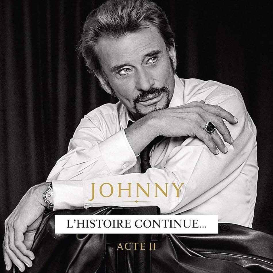 Johnny Hallyday - Johnny - Acte II (Digipack)