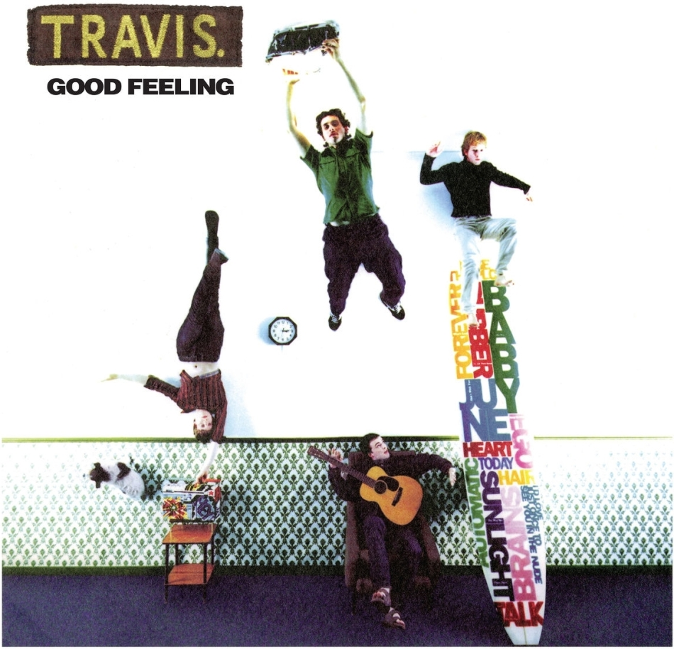 Travis - Good Feeling (2021 Reissue, Concord Records, LP)