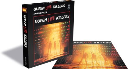 Queen: Live Killers - 500 Piece Jigsaw Puzzle