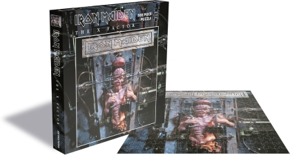 Iron Maiden - The X Factor (500 Piece Jigsaw Puzzle)